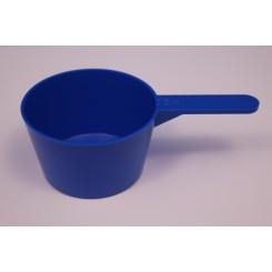 75 ml. Måleske blå
