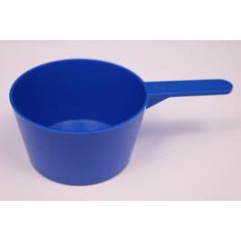 100 ml. Måleske blå