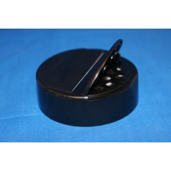 63 mm. Krydderilåg sort m. forseglingsliner