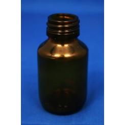 Medicinflaske brun 60 ml PP28