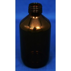 Medicinflaske brun 250 ml PP28