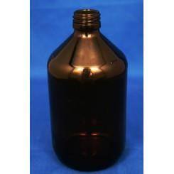 Medicinflaske brun 500 ml PP28