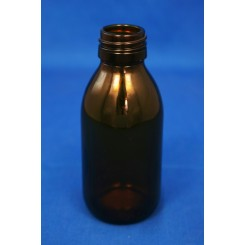 125 ml Medicinflaske sirup brun f. PP28