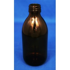 250 ml Medicinflaske sirup brun f. PP28