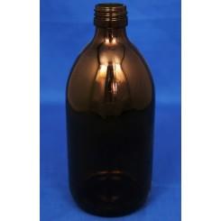 500 ml Medicinflaske sirup brun f. PP28