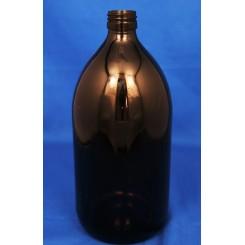 1000 ml Medicinflaske sirup brun f. PP28
