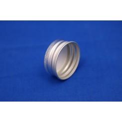 Kapsel aluminium m. Epo liner PP28 mm