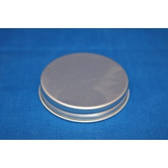 Låg for 60 ml. brun salveglas aluminium