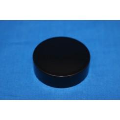 Låg sort f. salveglas 40 mm.