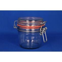 Patentglas rund med låg 126 ml.