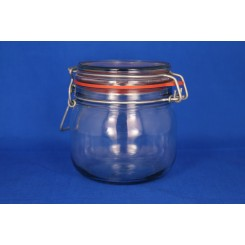 Patentglas rund med låg 255 ml.