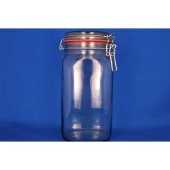 Patentglas rund med låg 634 ml.