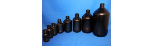 Medicinflasker brun